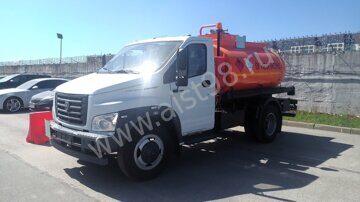 Автотопливозаправщик 4389JY на шасси ГАЗ-C41R13 (ГАЗон-NEXT, 5,3 м3)