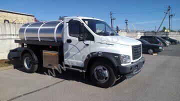 Водовоз ГАЗон-Некст с поливальной гребенкой и системой пожаротушения